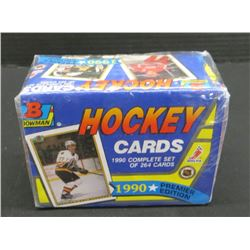 1990 Bowman Hockey Cards Complete Set 264 Cards