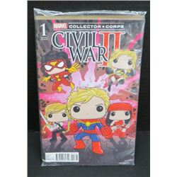 Marvel Collector Corps Civil War II #1 Variant