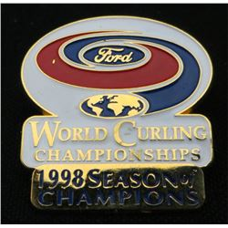 Ford World Curling Championships 1998 Season Pin