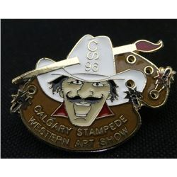 Calgary Stampede Western Art Show Collector Pin