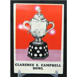 1970-71 O-Pee-Chee #263 Clarence Campbell Bowl