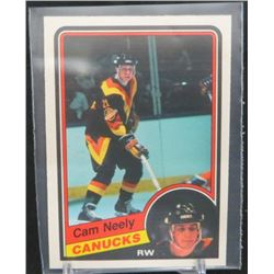 1984-85 O-Pee-Chee #327 Cam Neely RC