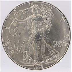 1995 American Silver Eagle Dollar Coin