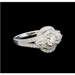 14KT White Gold 1.16 ctw Diamond Ring
