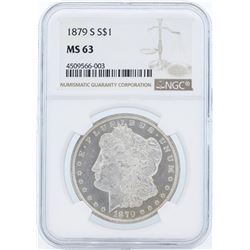 1879-S MS63 NGC Morgan Silver Dollar