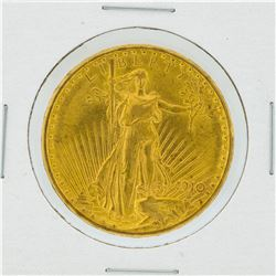 1910-S $20 AU St. Gaudens Double Eagle Gold Coin