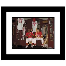 Pete Rose & Morgan in Clubhouse