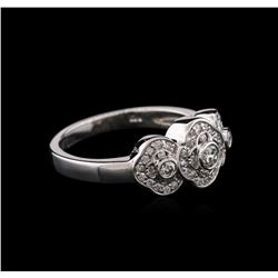 14KT White Gold 0.40 ctw Diamond Ring