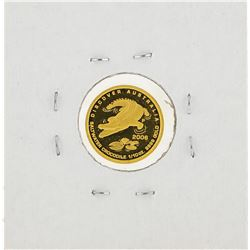 2006 $15 Australia Crocodile 1/10 oz Gold Coin