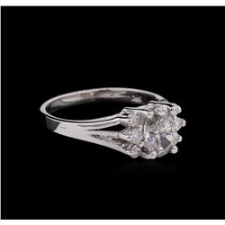 1.21 ctw Diamond Ring - 14KT White Gold
