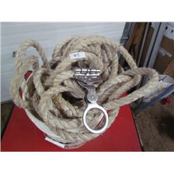 5 Gallon Pail of Safety Rope and Buckles