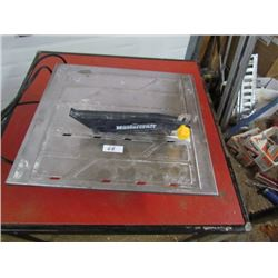 Tile Saw Mastercraft
