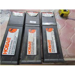 3 Boxes Welder Rods