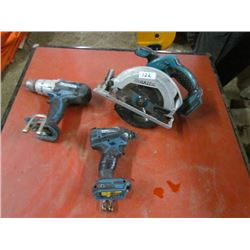 Saw,Drill,Impact Drill-No batteries 18v Makita