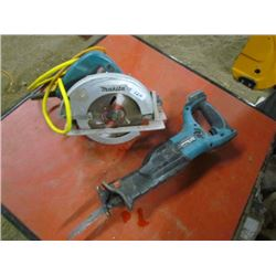 Circular Saw-Electric-SawsAll 18v Makita No battery