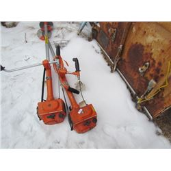 2 Brush Cutters-Husqvarna-165
