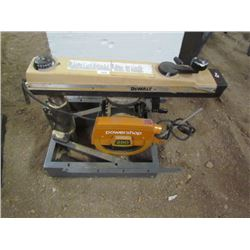 Dewalt Radial Arm Saw Powershop 250