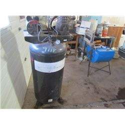 Upright Air Compressor- Campbell Housfield