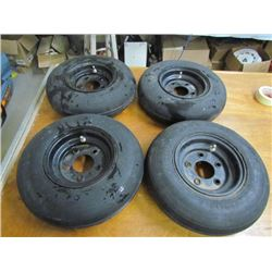 4 Smooth Implement Tires