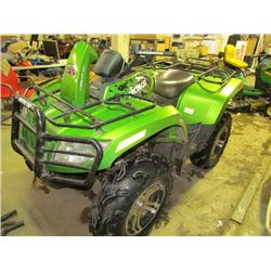 Artic Cat Quad 4x4 Bank Repo (High Bid will have to be accepted)