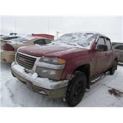 2005 GMC Canyon Red SALVAGE
