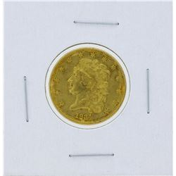 1834 $5 Classic Liberty Head Half Eagle Gold Coin