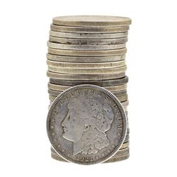 Roll of (25) 1921 $1 Morgan Silver Dollar Coins - Circulated