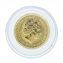 2008 Britannia 1/10 oz Proof Gold Coin
