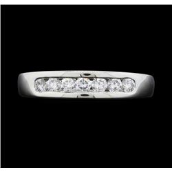 Platinum Ladies 0.50 ctw Diamond Ring