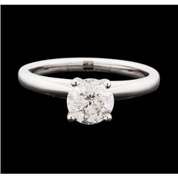 14KT White Gold 1.05 ctw Diamond Solitaire Ring