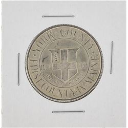 1936 York County, Maine Tercentenary Commemorative Half Dollar Coin