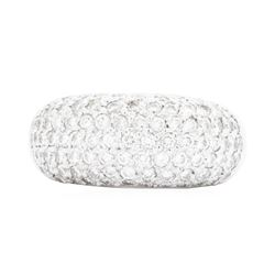 18KT White Gold Ladies 1.80 ctw Diamond Ring