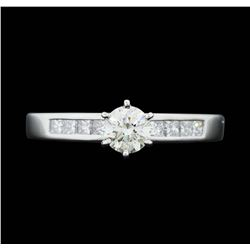 Platinum 0.97 ctw. Diamond Wedding Ring