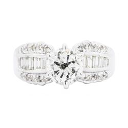 18KT White Gold 2.15 ctw Diamond Ring