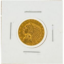 1909-D $5 Indian Head Eagle Gold Coin