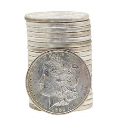 Roll of (20) Brilliant Uncirculated 1885 $1 Morgan Silver Dollar Coins
