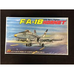 F/A-18 HORNET U.S NAVY FIGHTER PLASTIC MODEL KIT (1/48 SCALE) IN BOX UNBUILT