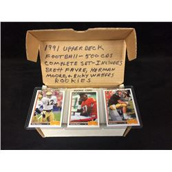 1991 UPPER DECK FOOTBALL (500 CARDS) COMPLETE SET