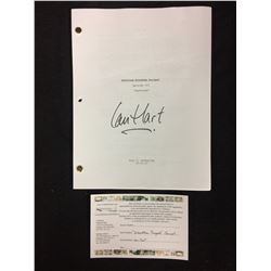 "IAN HART AUTOGRAPHED UNTITLED KLONDIKE PROJECT EPISODE 103 ""PAYSTREAK"" DRAFT W/ COA"