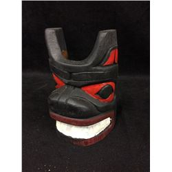 "NATIVE ART MASK (4"" X 7"")"