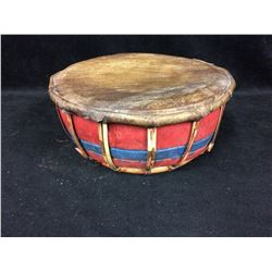 "NATIVE ART HAND DRUM (12"" X 4"")"
