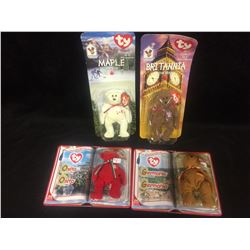 TY BEANIE BABY BEARS LOT (IN PACKAGES)