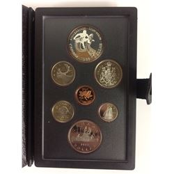 1983 ROYAL CANADIAN MINT COIN SET (SILVER PROOF)