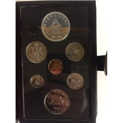 1976 ROYAL CANADIAN MINT COIN SET (SILVER PROOF)