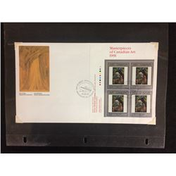 1991 MASTERPIECES OF CANADIAN ART STAMPS
