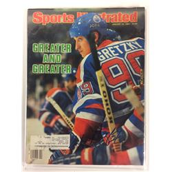 WAYNE GRETZKY AUTOGRAPHED SPORTS ILLUSTRATED MAGAZINE W/ COA
