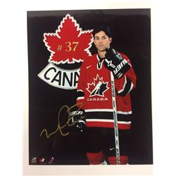 "MICHAEL PECA AUTOGRAPHED 8"" X 10"" PHOTO W/ COA"