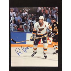 "RYAN SUTTER AUTOGRAPHED 8"" X 10"" PHOTO W/ COA"