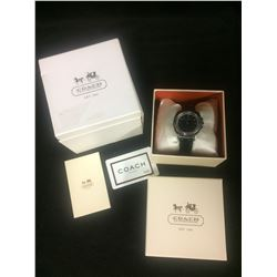 BRAND NEW WOMENS COACH WATCH W/ BOX & PAPERWORK