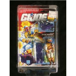 "GI JOE ""SNOW SERPENT"" ACTION FIGURE (IN PACKAGE)"